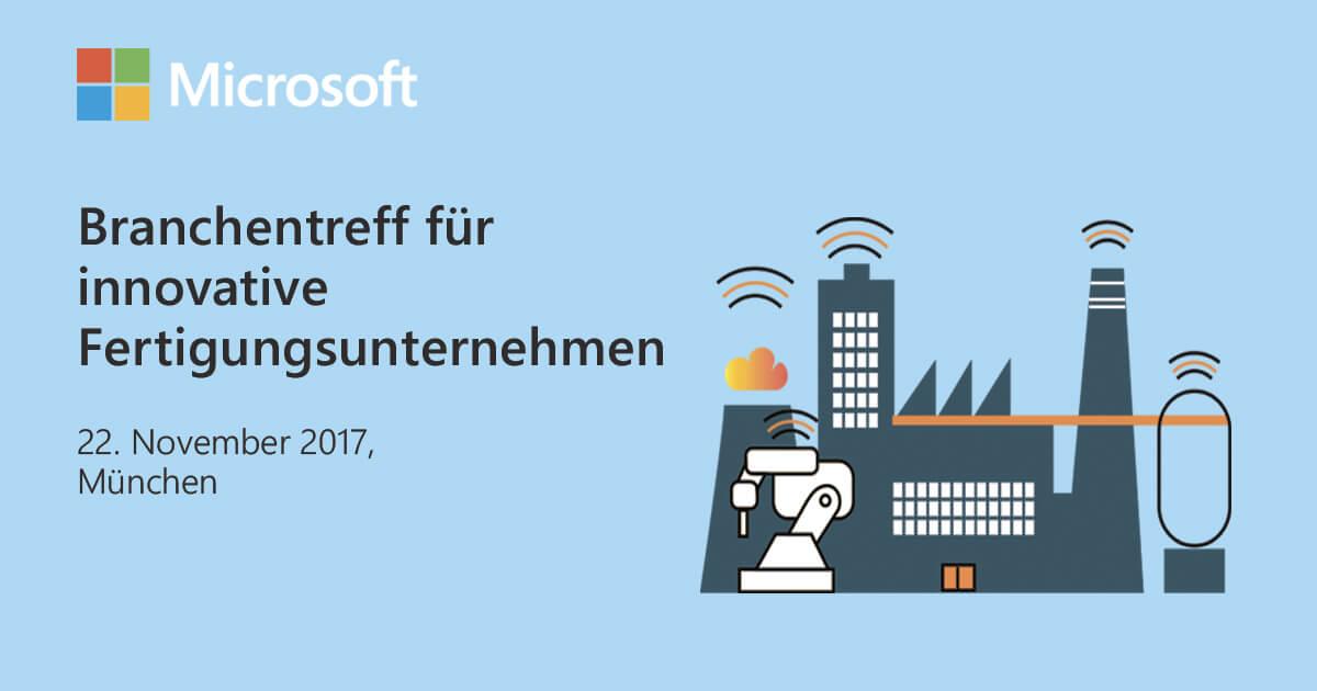 Event: Digitale Transformation in der Fertigungsbranche