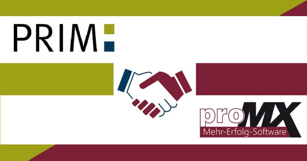 PRIM Management Consult GmbH ist neuer proMX-Partner