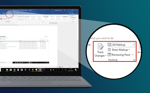 Easily collaborate in Microsoft Word using Track Changes