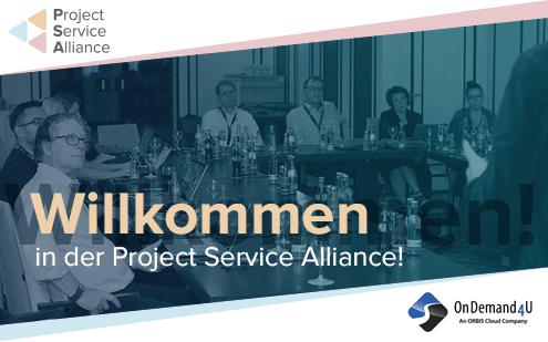 OnDemand4U ist das neueste Mitglied der Project Service Alliance