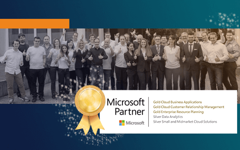 proMX honored as Microsoft Dynamics 365 Premium Partner