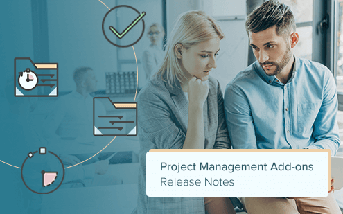 New Project Management Add-Ons release: New features and bug fixes