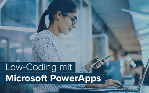 App-Entwicklung mit Microsoft PowerApps