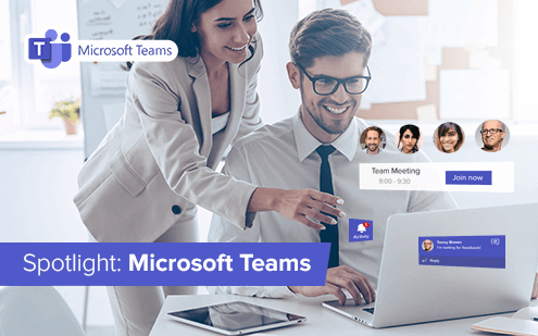 Homeoffice streamlined with Microsoft Teams