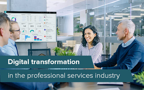 How services companies benefit from digital transformation