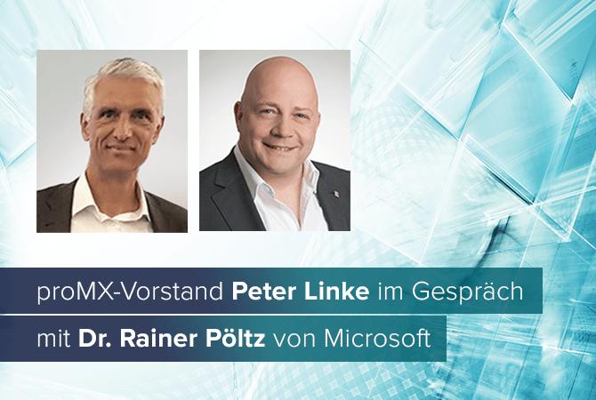 Digitale Transformation der Zukunft: Im Gespräch mit Dr. Rainer Pöltz von Microsoft Deutschland
