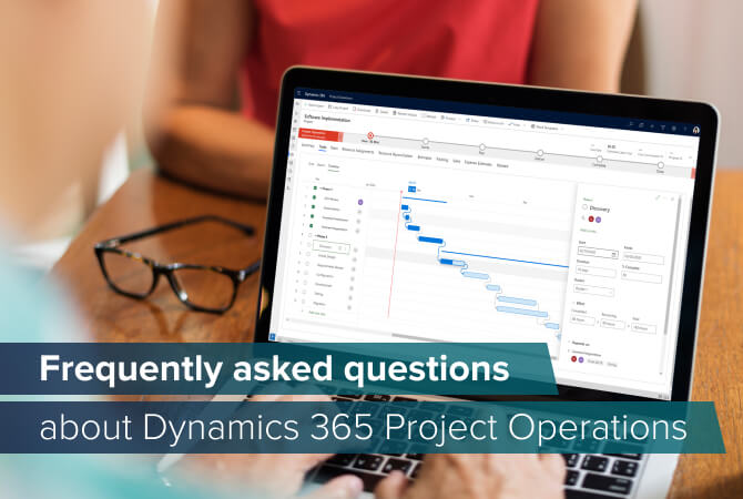 FAQ about Dynamics 365 Project Operations