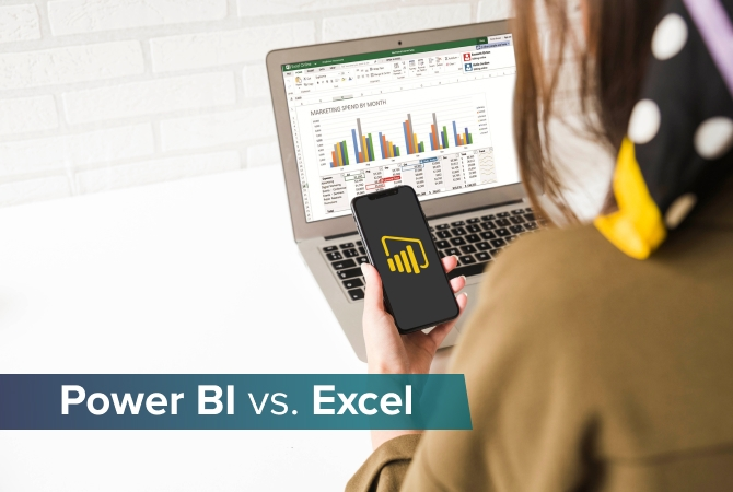 Reporting in Power BI vs. Excel