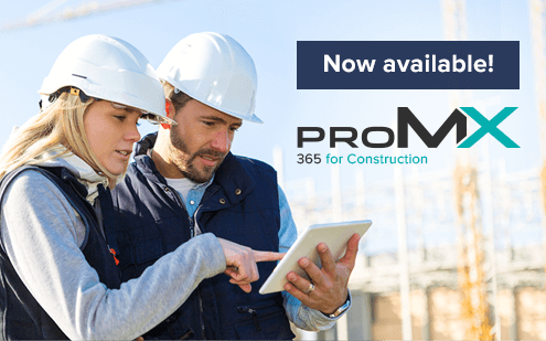 proMX 365 for Construction: New industry solution available