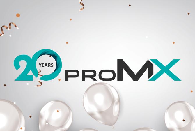 proMX wird 20!