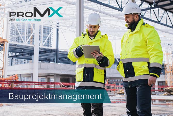 Wie Sie Ihr Bauprojektmanagement mit Microsoft und proMX optimieren