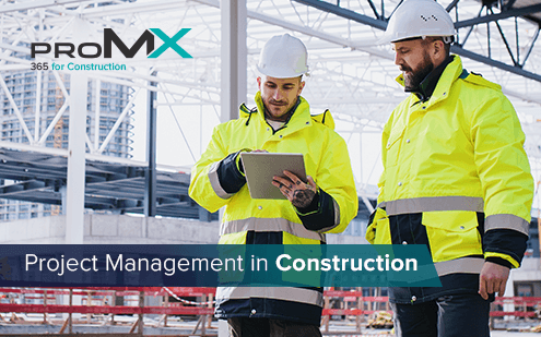 How to optimize your construction project management with Microsoft and proMX