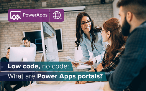 Low code, no code: What are Power Apps portals?