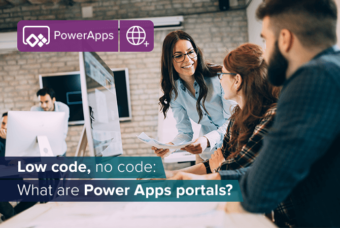 What are Power Apps Portals?