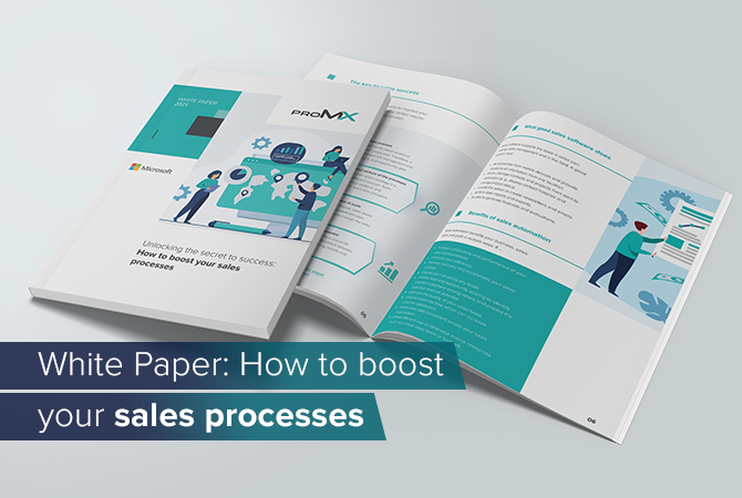 White Paper: How to boost your sales processes