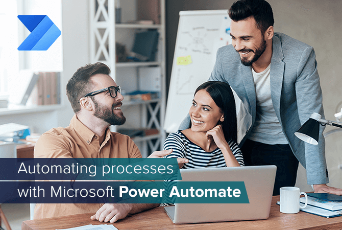 Automating processes with Microsoft Power Automate