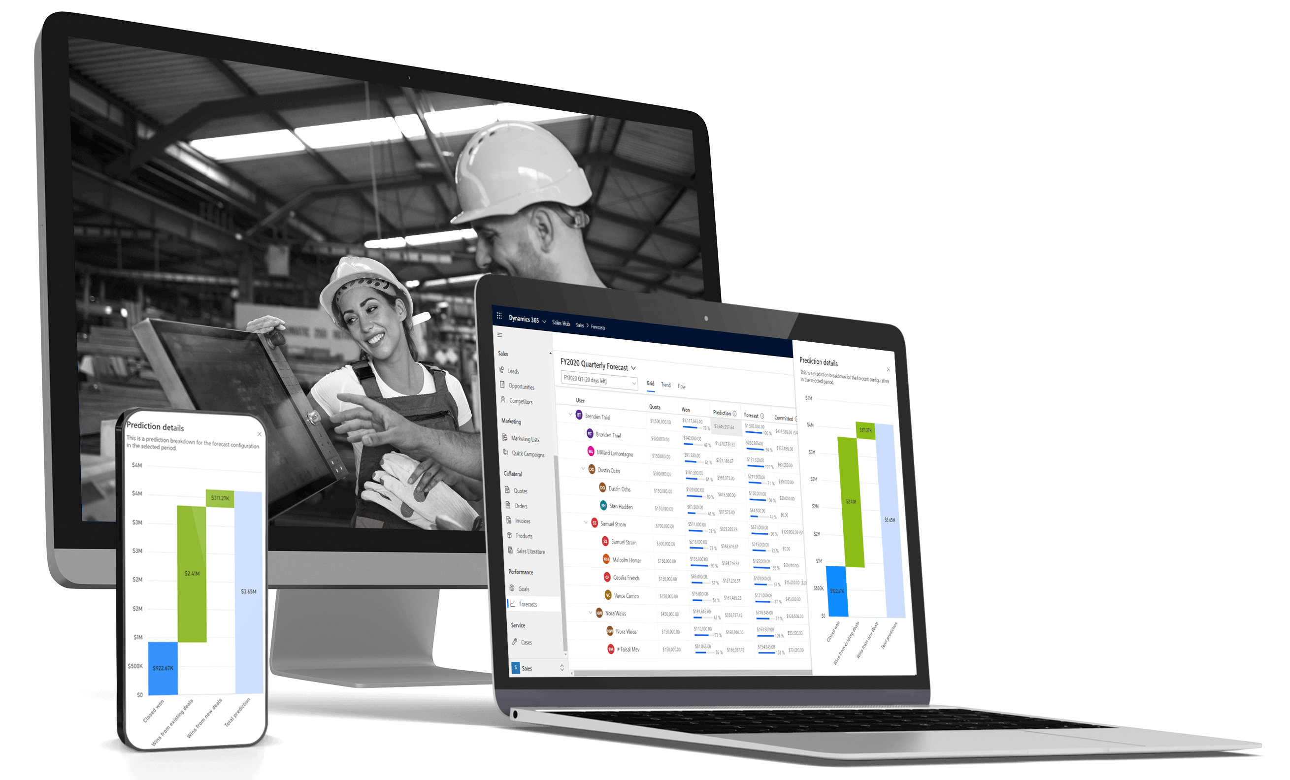 WHY MICROSOFT DYNAMICS 365 FOR MANUFACTURING?
