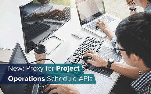 New: Proxy for Dynamics 365 Project Operations Schedule APIs to solve authentication issue