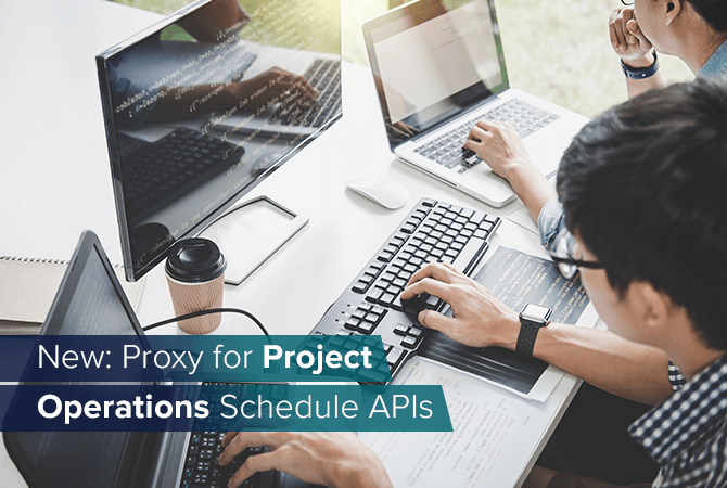 Proxy for Project Operations Schedule API