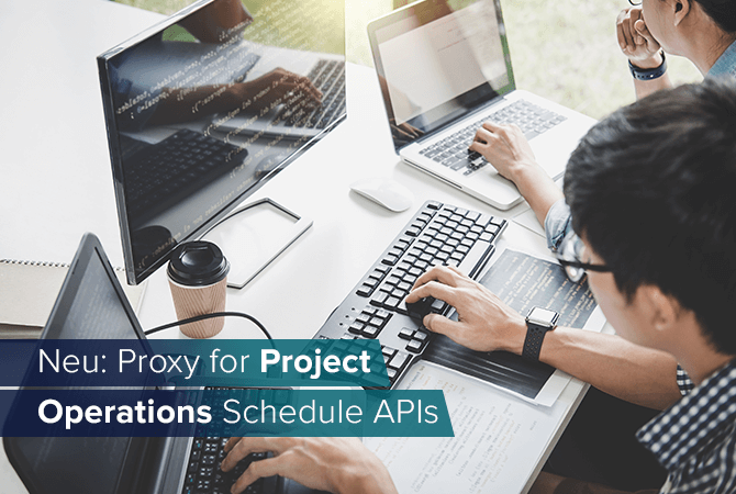 Proxy für Project Operations Schedule APIs