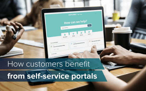 How customers benefit from self-service portals