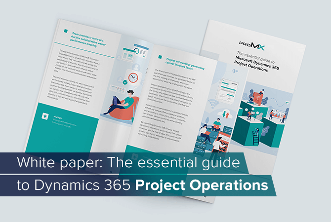 White paper: Get to know Dynamics 365 Project Operations