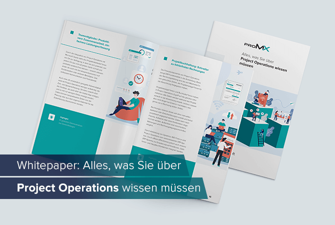 Whitepaper: Lernen Sie Dynamics 365 Project Operations kennen