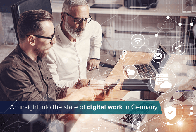 An insight into the state of digital work in Germany