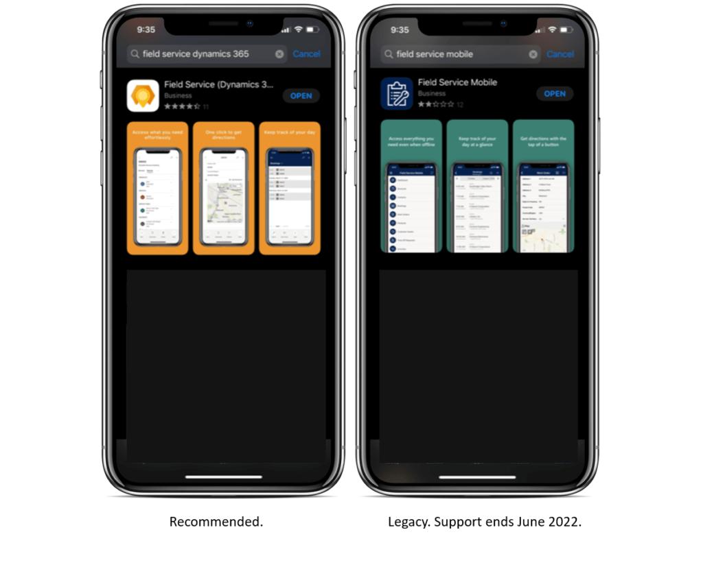 Screenshot_Field Service apps