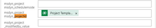 Project Templates in Dynamics 365 Project Operations