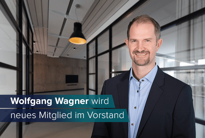 Wolfgang Wagner appointed new member of the board