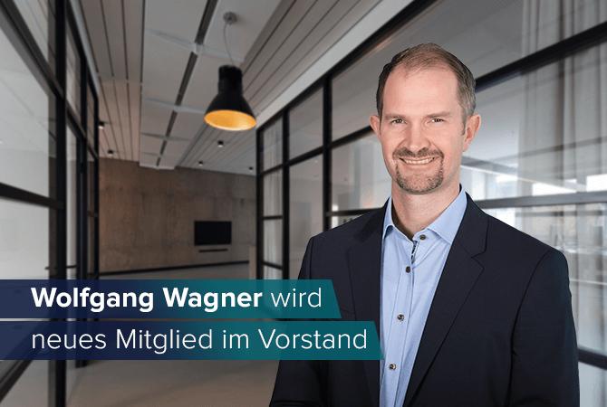 Wolfgang Wagner wird neues Mitglied im Vorstand